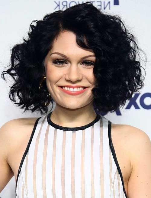 Best Round Face Bob Ideas On Pinterest Short Hair Cuts For - Curly short hair style for round face