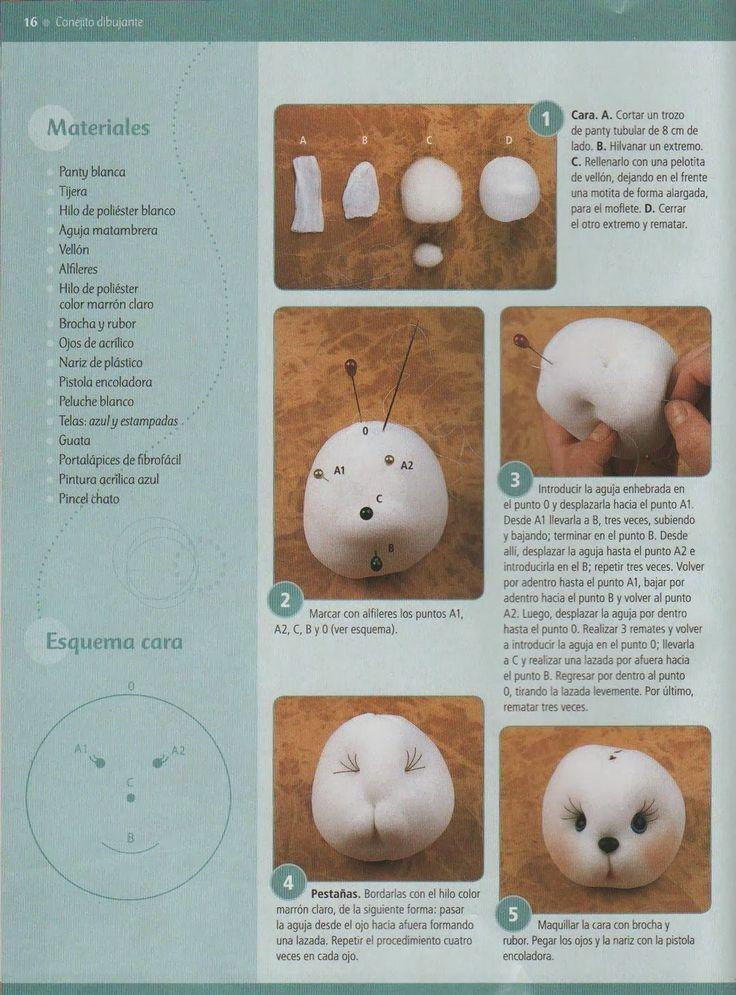 Revistas de manualidades Gratis: Revista de muñecos soft