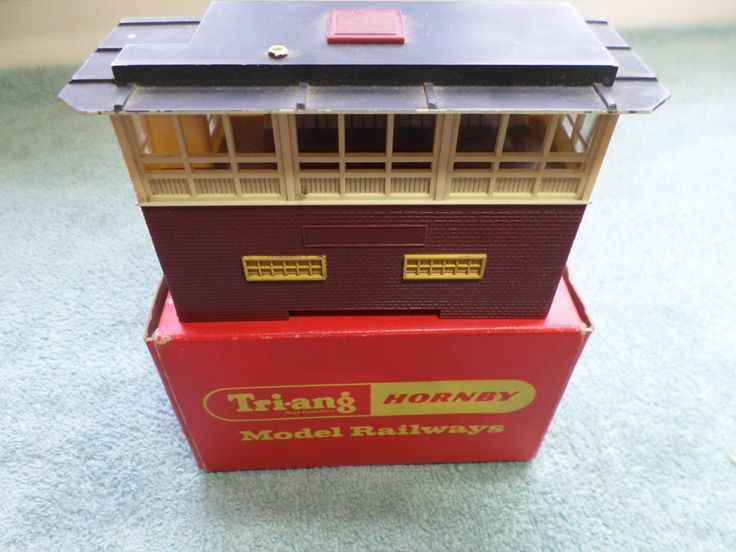Triang Hornby R.145 Modern Signal Box by RoseCollectable on Etsy