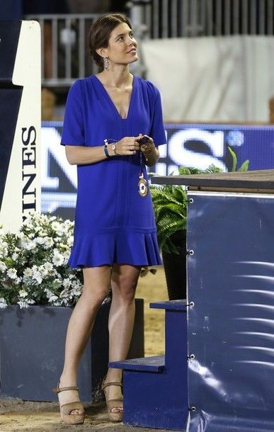 MYROYALS  FASHİON: Charlotte Casiraghi attended the Riveiera Grand Prix du Prince June 29, 2013