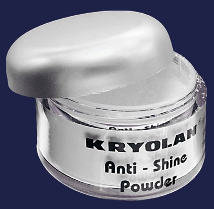 Kryolan Anti-Shine Powder...great for setting foundation for Oily skin