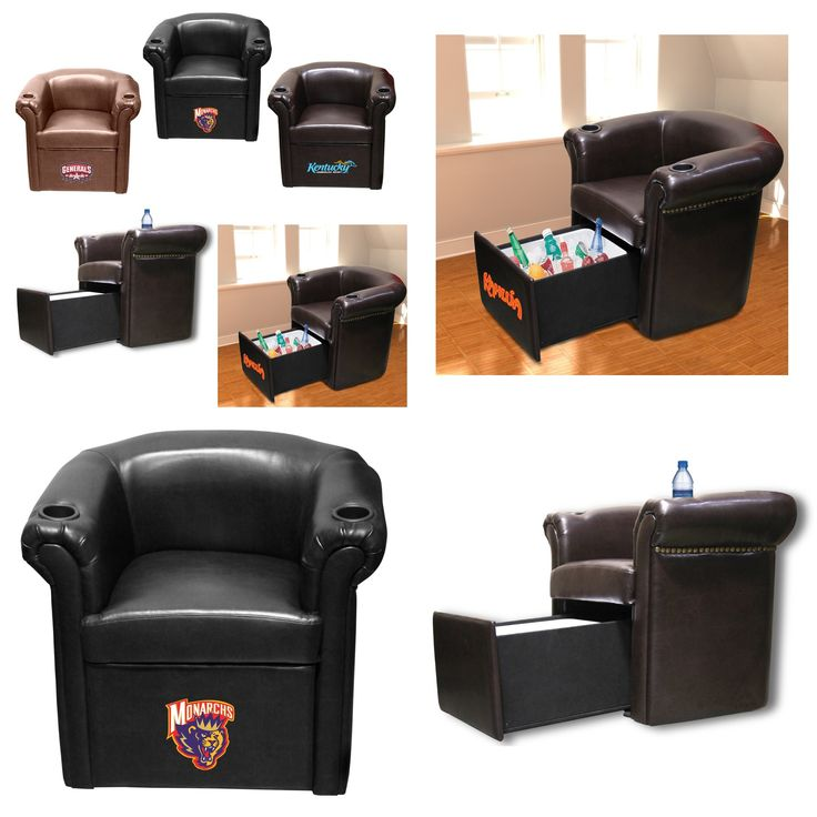 Man Cave Products : Cooler chairs man cave approved baseball products