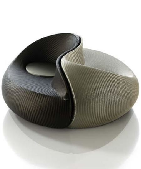 DEDON's Yin Yang lounger for the aesthetically inclined