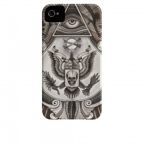 Skull & Bones iPhone Case / Thomas Hooper