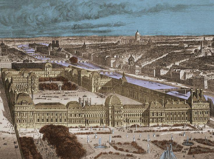 Le palais des tuileries est un palais parisien aujourd 39 hui d truit dont l - Date de construction du louvre ...