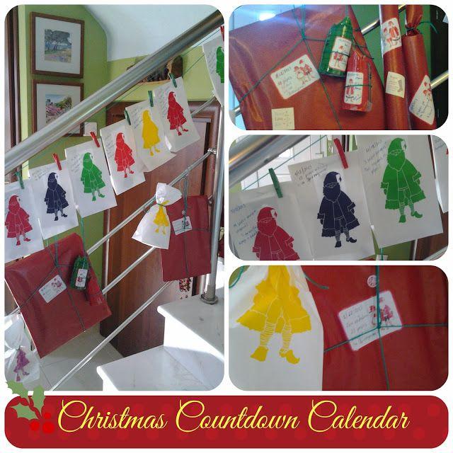 Christmas Countdown Calendar Ανθομέλι