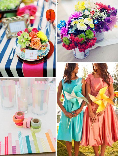 Rainbow WeddingAll Things Bright And Beautiful #Labola Loves Them All. #Labola.co.za