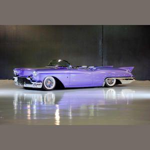 1957 Cadillac Eldorado purple cars, purple trucks, purple SUV