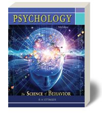 Psychology: The Science of Behavior by Dr. R.H. Ettinger, EOU Psychology Department