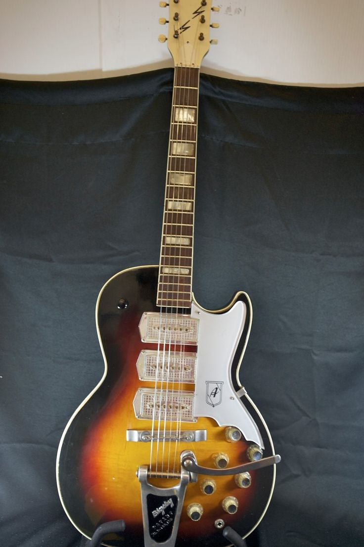 Vintage Airline Semi Hollow Guitar 1960's