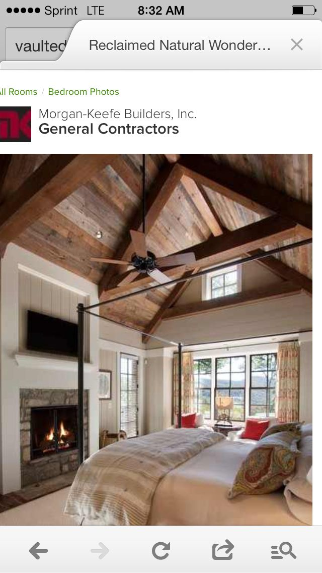 23 best images about creative curtain rods on pinterest for Country master bedroom designs