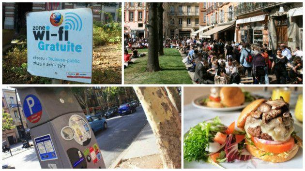 Places de parking gratuites, bornes Wi-Fi, coworking... cinq cartes pratiques pour profiter de Toulouse