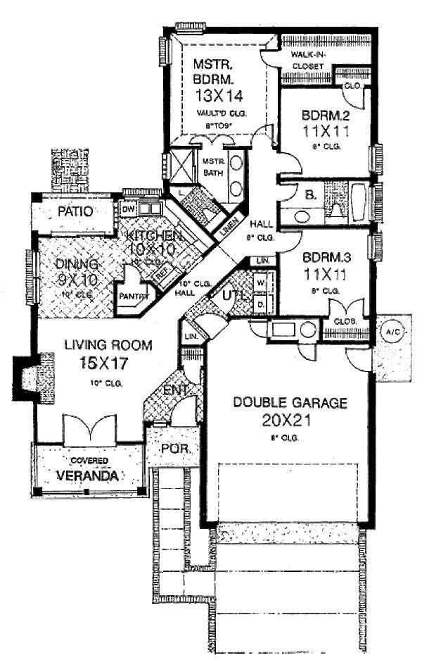 1145 best maison images on Pinterest House blueprints, Floor plans