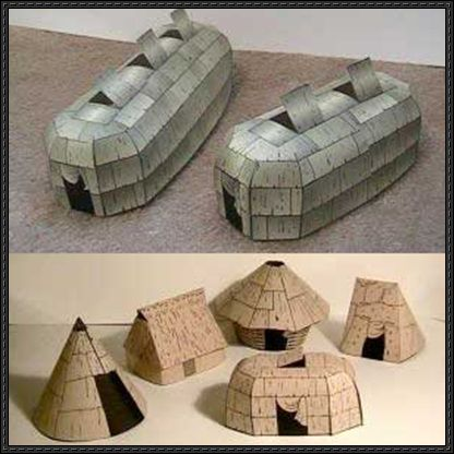 Native American Architecture Free Papercrafts Download - http://www.papercraftsquare.com/native-american-architecture-free-papercrafts-download.html
