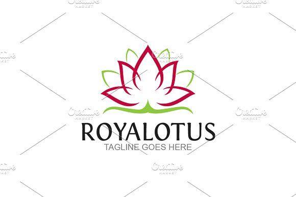 Royal Lotus by GoldenCreative on @creativemarket