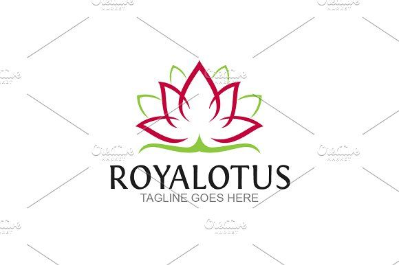 Royal Lotus by GoldenCreative on @creativemarket