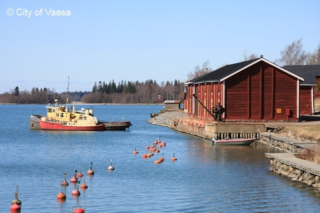 Palosaari @ Vaasa. www.visitvaasa.fi. Photo: Jenni Tuliniemi.