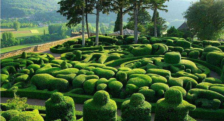 magical garden in France