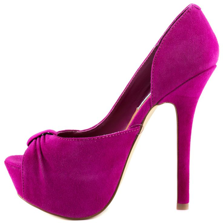 Reapping - Fuchsia Suede Steve Madden $119.99
