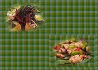 Эликсир молодости: Креветки, маринованные с лаймом и имбирём, со свеж...