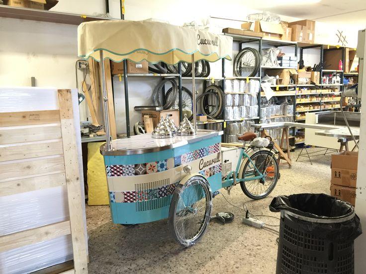 #icecreamcart #gelatocart #tekneitalia #foodmobile #foodbusiness #vintagestyle
