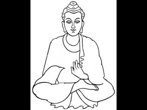 How To Draw Buddha (by balagokulam.info) - YouTube