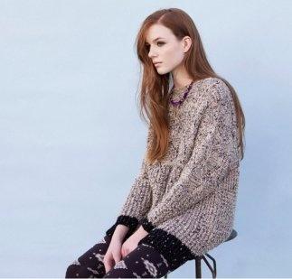 Los jerséis y las leggins se impregnan de este tipo de estampados sobre colores grises, beige, granate, marrón, azules, blancos y negros.