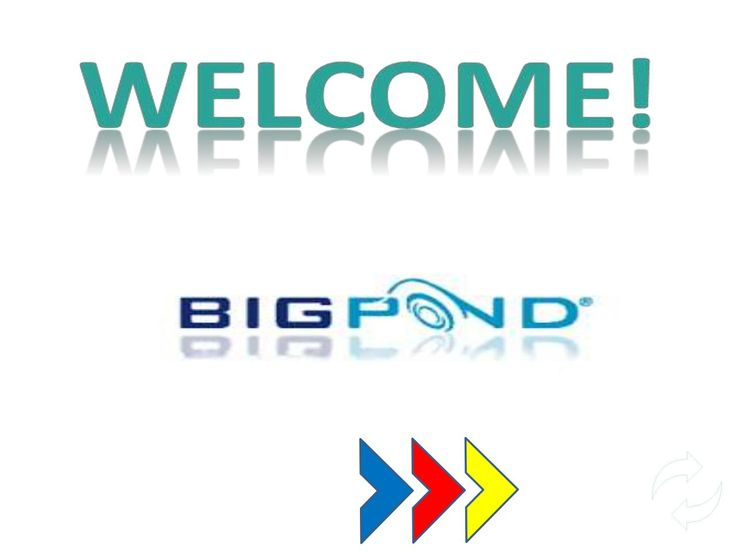 Telstra bigpond webmail login welcome