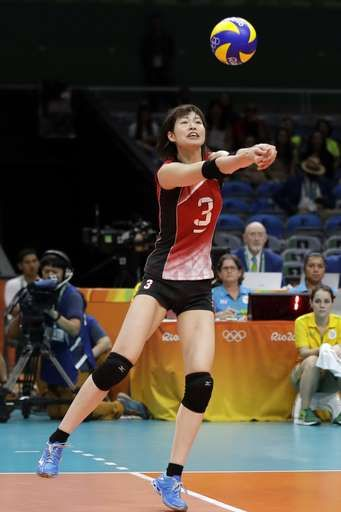 US women hold off scrappy Netherlands team in 5 sets  -  August 8, 2016  -        Japan's Saori Kimura passes the ball during a Women's preliminary volleyball match against Cameroon at the 2016 Summer Olympics in Rio de Janeiro, Brazil, Monday, Aug. 8, 2016. (AP Photo/Matt Rourke)