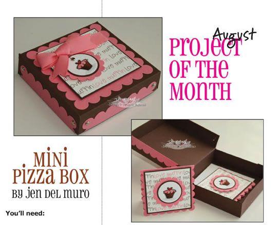 mini pizza box tutorial 3