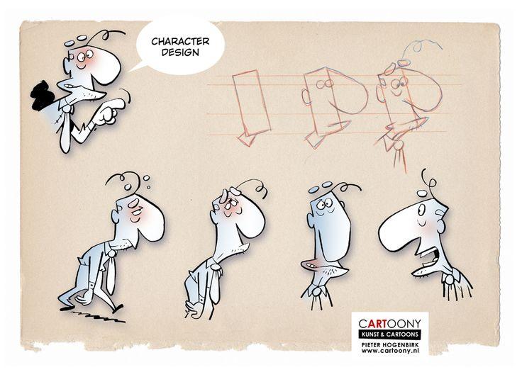 Character Design, Pieter Hogenbirk