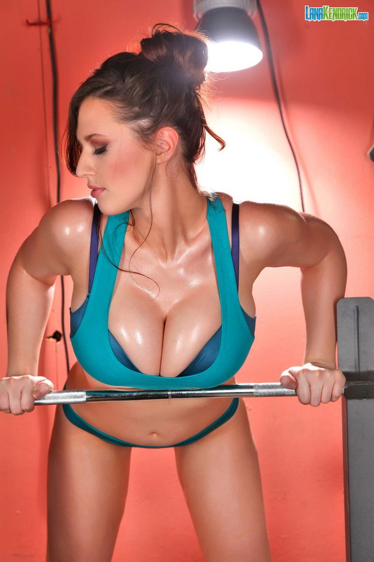 busty babes working out
