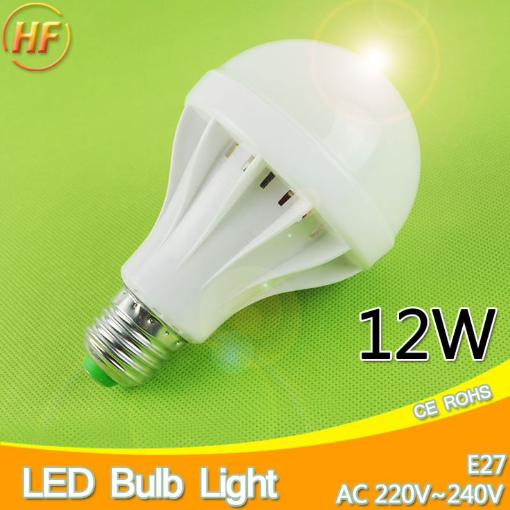 Top Quality 4Pcs 12W Lampada LED E27 LED Lamp 220v 240v Ball LED Light bulb Lampara Bombilla Ampoule SMD 5730 globe solar lamp #Affiliate
