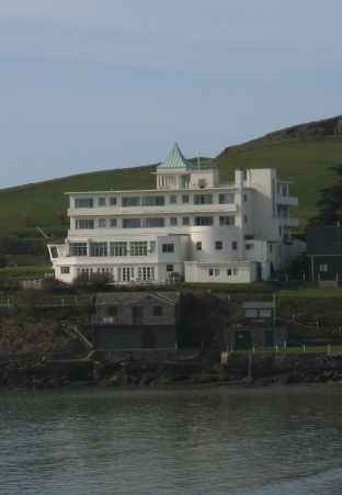 One of Devon's most famous hotels is the Art Deco gem on Burgh Island. It hosted Agatha Christie, Noel Coward, Edward & Mrs Simpson and even the Beatles. And it's been in a Poirot film or two...