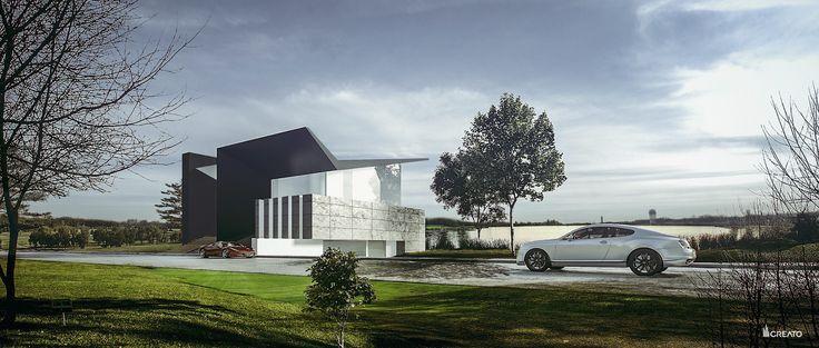 CASA DEKO BY CREATO  #architecture #design #concrete #minimal #contemporary #lifestyle #mexico #luxury #project #facades #mansion #amazingarchitecture #top