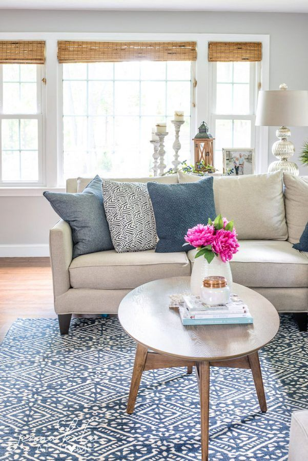 Coastal Inspired Summer Living Room Living Room Ideas Pinterest