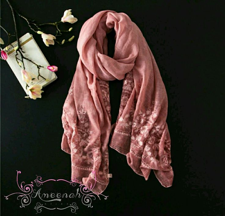 🍄Flamenco Lace Scarf (Pink) 🍄Material : 35% Cotton 65% Polyester Exclusive Import 🍄Ukuran : 200x90 cm 🍄IDR 145.000  For order Line@ameenah_hijab BBM 598B233D Shipping : Bandung