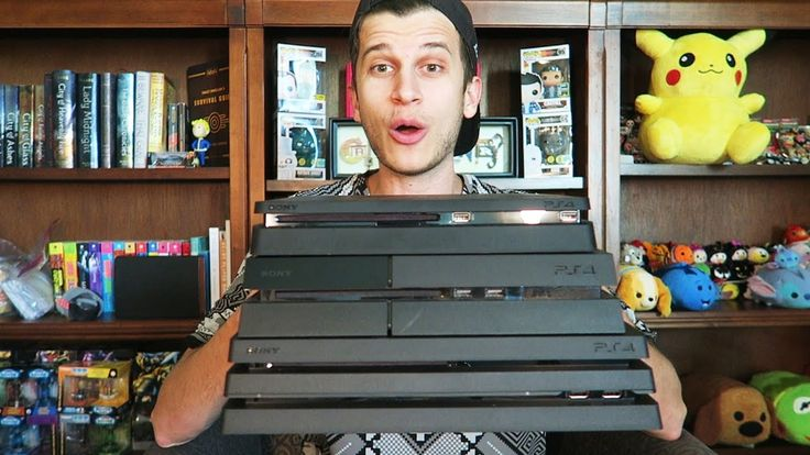 awesome PS4 Pro Unboxing and Evaluation!! Playstation four Pro vs. PS4 vs. XB1 vs. PS4 Trim!!