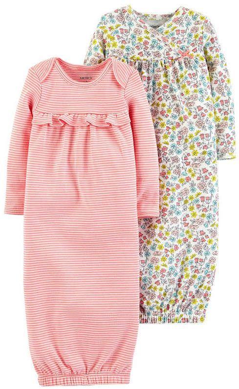 967b86e5f Carter s Little Baby Basics Long Sleeve Nightgown - Girls ...