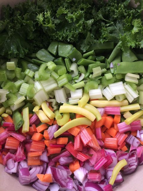 Alessandra Zecchini: Eat your colours in a minestrone