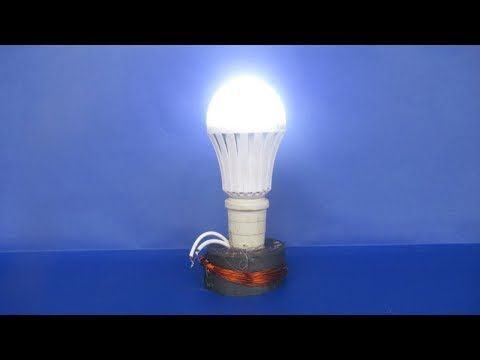 How to make free energy electricity generator with Magnet