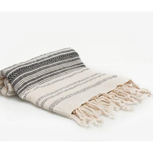 Found it at AllModern - Hand Woven Turkish Peshtemal Fouta Bath Towel