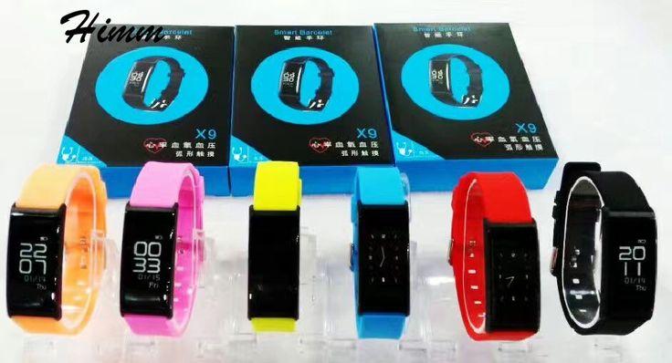 2017 new Smart band x9 bracelet bracelet watch with Bluetooth remote control smart pulse blood power smartband remind PK id107 #Affiliate