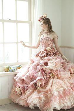 カラードレス ピンク系