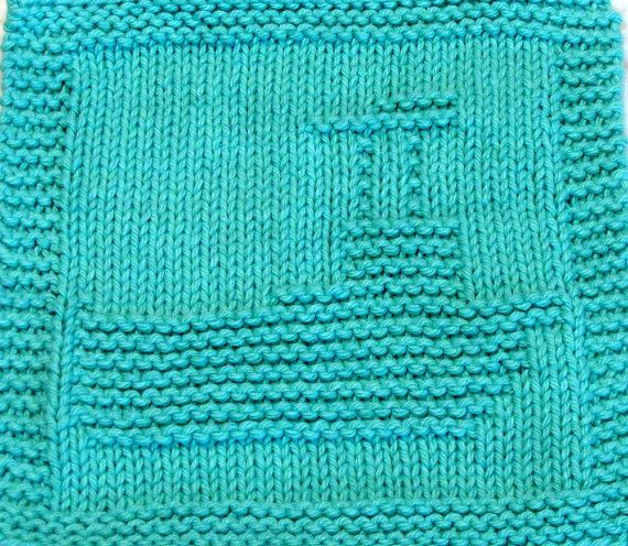 Knitting Pattern For Toy Boat : 1000+ ideas about Knitting Squares on Pinterest Tunisian crochet blanket, L...