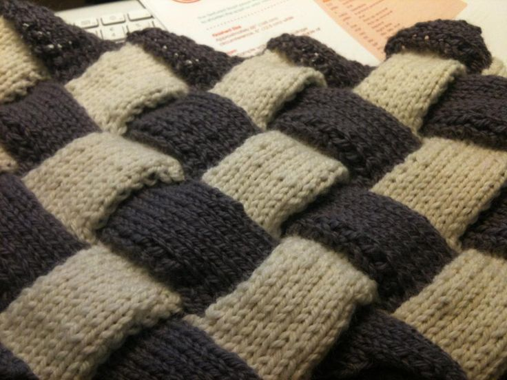 Knitting | Entrelac Knitting by sewhappyjp | Knitting Ideas