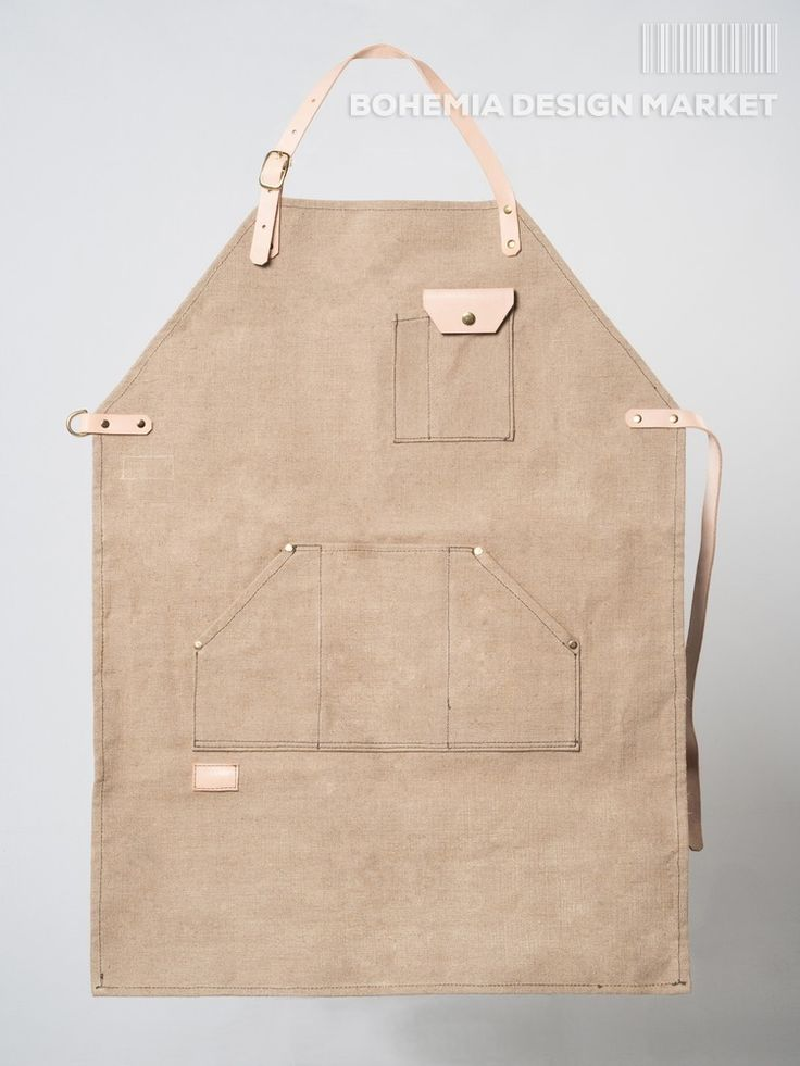 >>Limited Working Apron - by Promise Clothing<< Enjoy Uniqueness & Quality of Czech Design http://en.bohemia-design-market.com/designer/promise-clothing