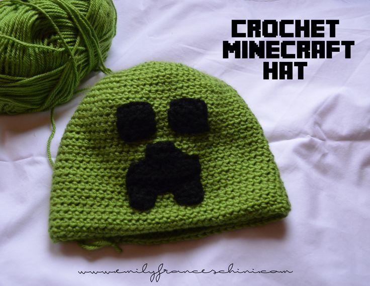 1000+ ideas about Minecraft Hat on Pinterest Minecraft crochet, Minecraft c...