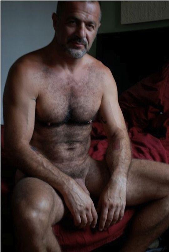 old hairy men naked