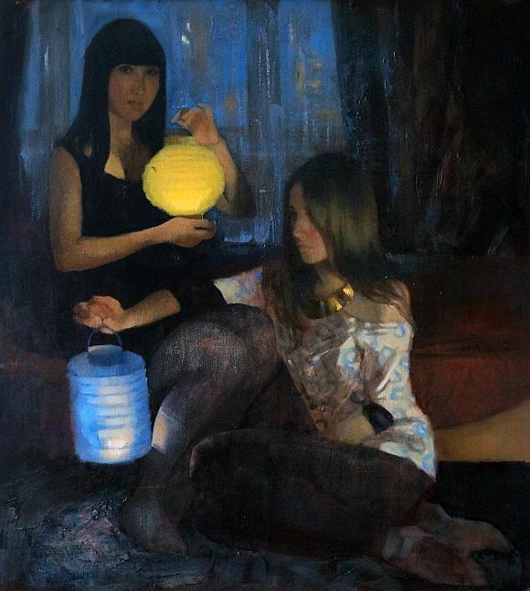 Китайские фонарики, автор Ксения Жорницкая. Артклуб Gallerix